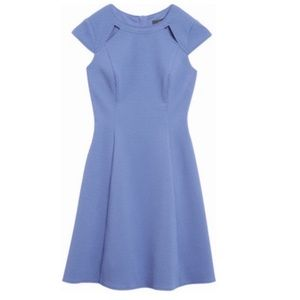 Adrianna Papell Textured Fit and Flare Dress